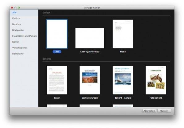 iWork: Nutzer vermissen Funtkionen in der neuen Versioen. (Screenshot: Pages)