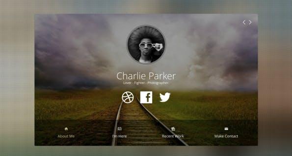 Joomla Profile Template