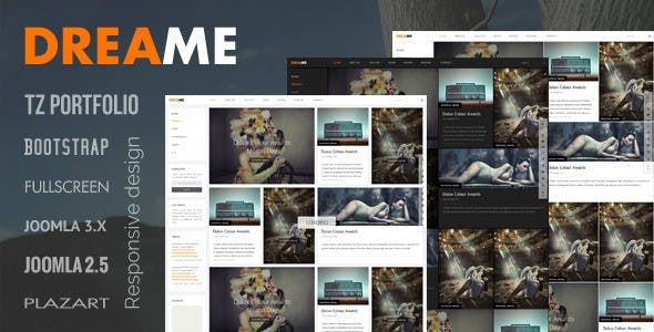 Dreame Joomla Template