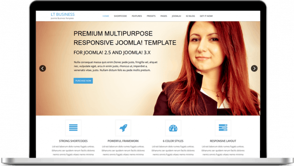LT Business Joomla Template