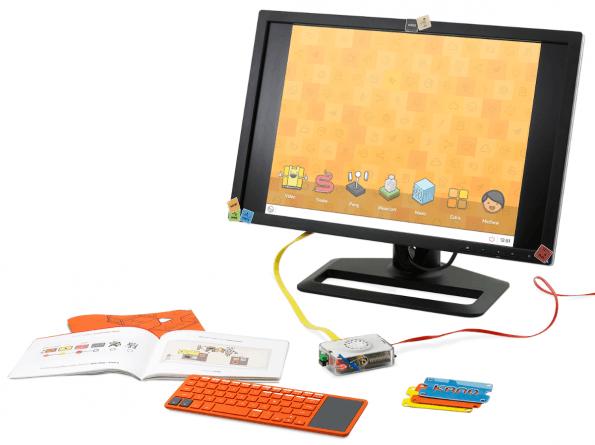 Der Raspberry-Pi-Baukasten von Kano bietet viele Möglichkeiten. Kinder wie Erwachsende können einfache Computerspiele entwickeln oder einen Mediaplayer basteln. (Foto: Kano)