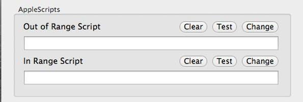 Proximity: Mit etwas Apple-Script wird das Tool zu einer mächtigen Alternative zu Knock und Sesame. (Screenshot: Proximity)