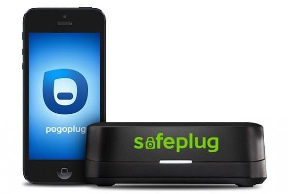 """Der Safeplug von der Firma """"Pogoplug"""" routet den gesamten Netzwerkverkehr durch das Tor-Netzwerk und sorgt damit für Anonymität. (Quelle: Pogoplug)"""