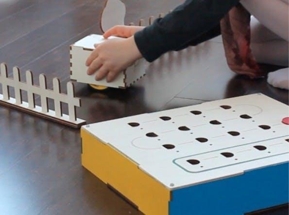Primo soll Kindern die Grundlagen der Programmierlogik vermitteln. (Foto: Primo / Kickstarter)