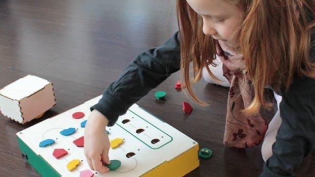 Programmieren für Kids: Lehrreicher Roboter für 4- bis 7-Jährige