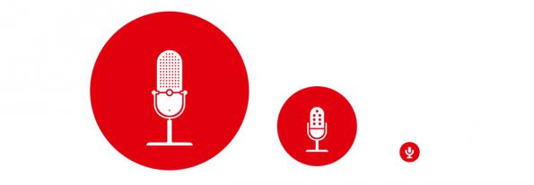 Responsive Icons, realisiert mit einer Icon Font