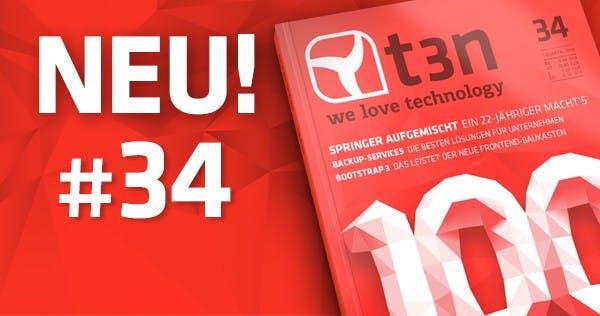 t3n 34 ist fertig: Das sind die 100 wichtigsten Köpfe im Netz