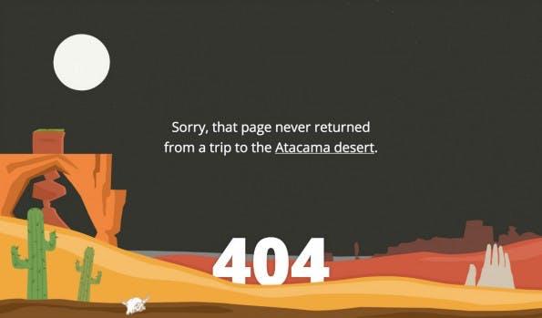 So wirbt ein Reiseportal mit einem 404-Error für sich. (Screenshot: t3n)