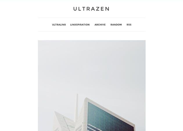 Einfacher geht es nicht: UltraZen ist ultra minimalistisch. (Quelle: tumblr.com)