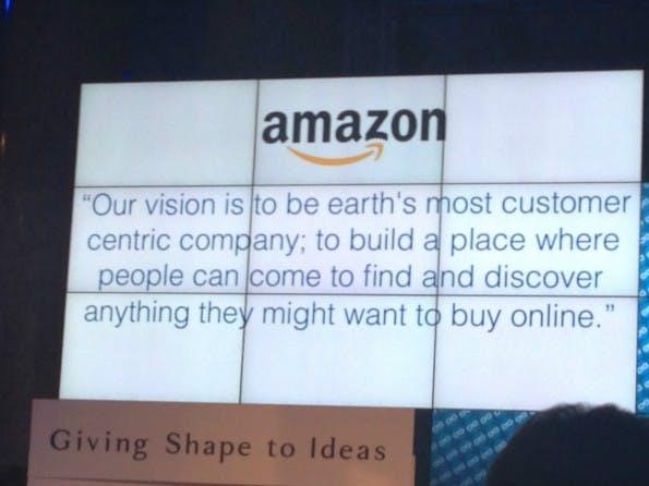 Unternehmenskultur: Amazons Mission hat die Kultur des Online-Versandhändlers maßgeblich mitgeprägt. (Bild: t3n.de)