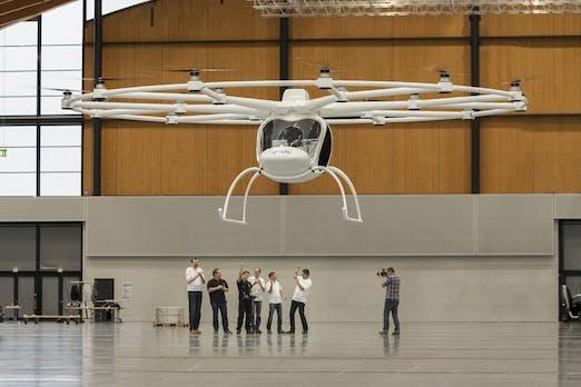 Volocopter: Monster-Drohne mit zwei Sitzplätzen aus Deutschland