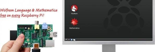 Mathematica und Wolfram Language umsonst für alle Besitzer eines Raspberry-Pi-Computers. (Bild: Wolfram)