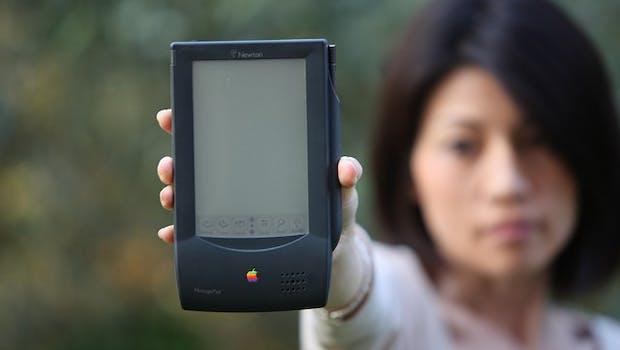 1993: Das Newton  MessagePad. (Bild: Bruno Cordioli-Flickr / CC BY 2.0)