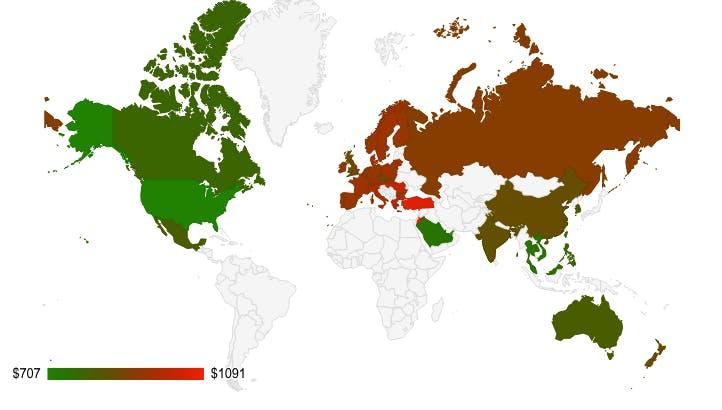 Globaler Preisvergleich: So viel kostet das iPhone 5s weltweit