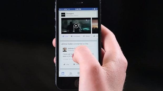 Facebook bestätigt Gerüchte: Video-Werbeanzeigen mit Auto-Play-Funktion im Newsfeed