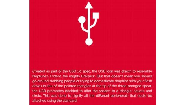 "USB. (Quelle: <a href=""http://visual.ly/origins-common-ui-symbols"">visual.ly</a>)"