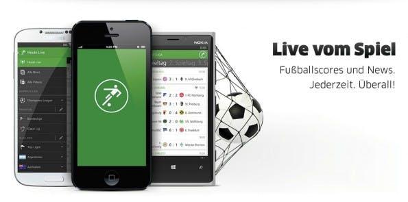 Die Fußball-App iLiga belegt bei den Apple Best of 2013 den zweiten Platz in der Kategorie iPad-Apps. (Bild: Squarespace)