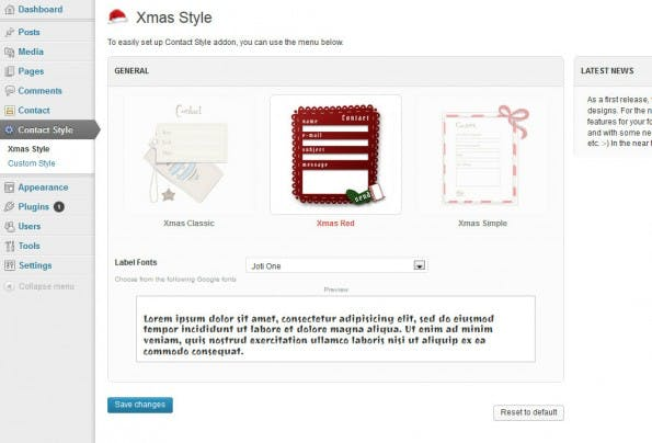 Contact Form Seven Style Plugin