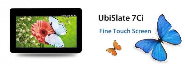 Datawind UbiSlate 7Ci: Das Tablet ist extrem günstig. (Bild: Datawind)