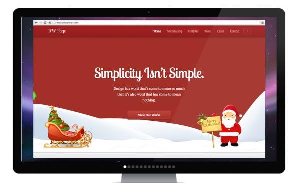 DW Pages WordPress Theme
