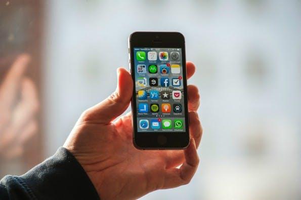 Das iPhone 5s (Foto: Dennis Wisnia)