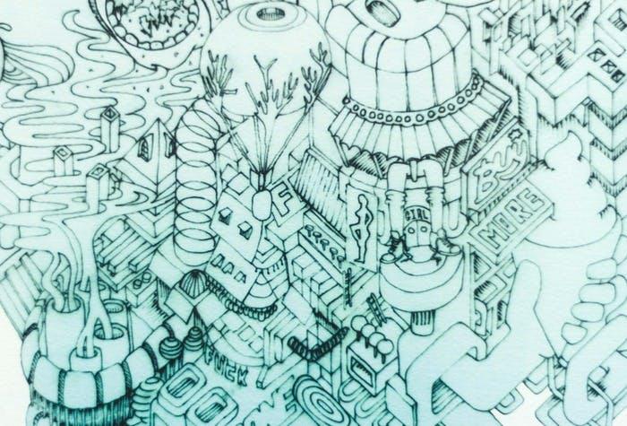 """""""Malen nach Zahlen"""": Britischer Künstler zeichnet das Internet deiner Vorstellungskraft"""