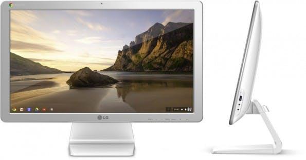 """Der """"LG Chromebase"""" ist der erste All-in-One-PC mit Google Chrome OS. (Quelle: LG)"""