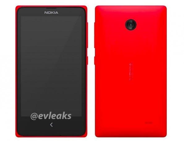 So soll Nokias Android-Smartphone aussehen. (Bild: evleaks / Twitter)