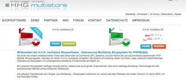 (Screenshot: H.H.G Multistore)