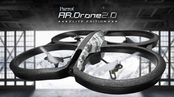 AR.Drone 2.0: Durch SkyJack wird die Drohne zum Drohnendieb. (Screenshot: Parrot AR.Drone 2.0)