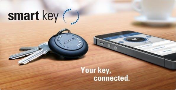 Smart Key: Bluetooth-Anhänger von einem deutschen Hersteller. (Bild: Delgato)