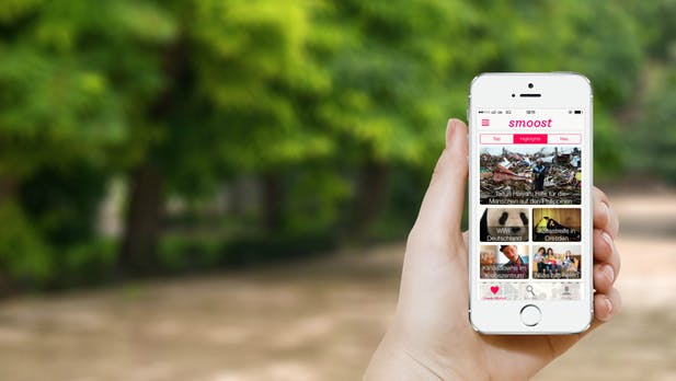smoost: Ein Bamberger Startup im Dienst der guten Sache