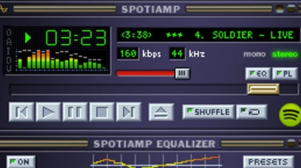 Spotiamp: Spotify-Entwickler veröffentlichen Player im Winamp-Look