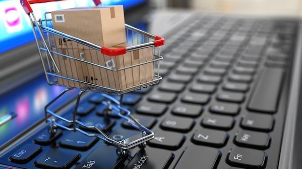 Online-Handel mit Waren wächst zweistellig