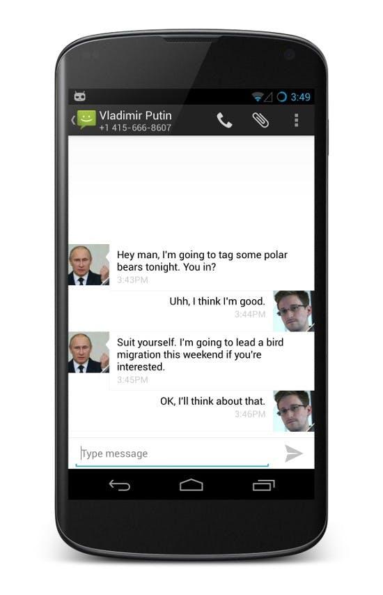 CyanogenMod kommt zukünftig mit standardmäßiger Verschlüsselung für Nachrichten daher. Zum Einsatz kommt das TextSecure-Verfahren, dass als sehr sicher gilt. (Quelle: whispersystems.org)