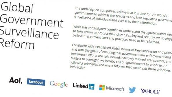 US-Unternehmen fordern Reform der Internetüberwachung