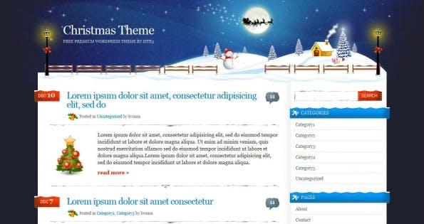 Xmas WordPress Theme