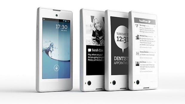 YotaPhone: Smartphone mit zusätzlichem E-Ink-Display für 500 Euro