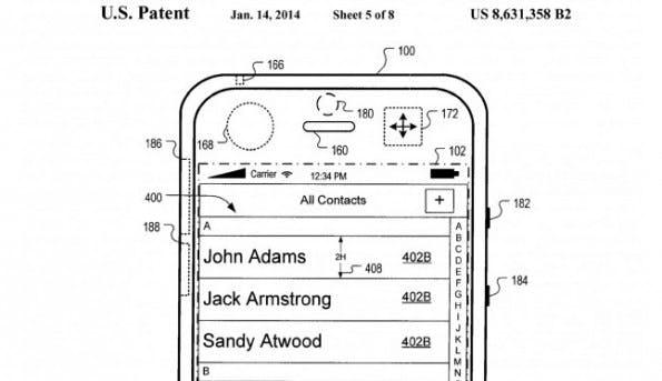 Apple-Patent auf variable Benutzeroberflächen, die sich Bewegungen anpassen.
