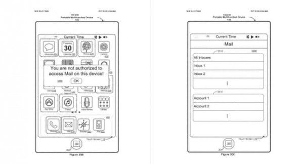 Apple-Patent will Homebutton zum Trackpad und Display zum Fingerabdruck-Sensor machen.