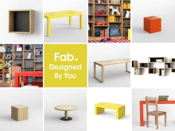 In Zukunft wird es bei Fab Europe nur noch Möbel geben. (Bild: Jason Goldberg, via Slideshare)