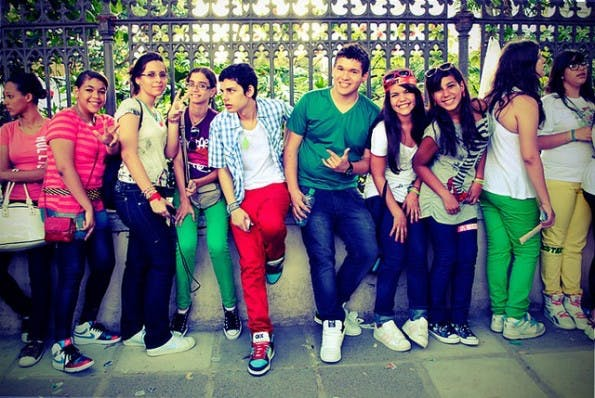 Teenager-Zielgruppe: Lieber private Messenger als Facebook. (Bild: Flickr-Luci Correia / CC-BY-2.0)