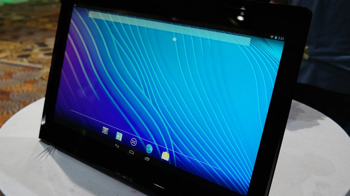 CES 2014: Lenovo N308 kombiniert Android-Tablet und All-in-One mit 19,5-Zoll-Touch-Display