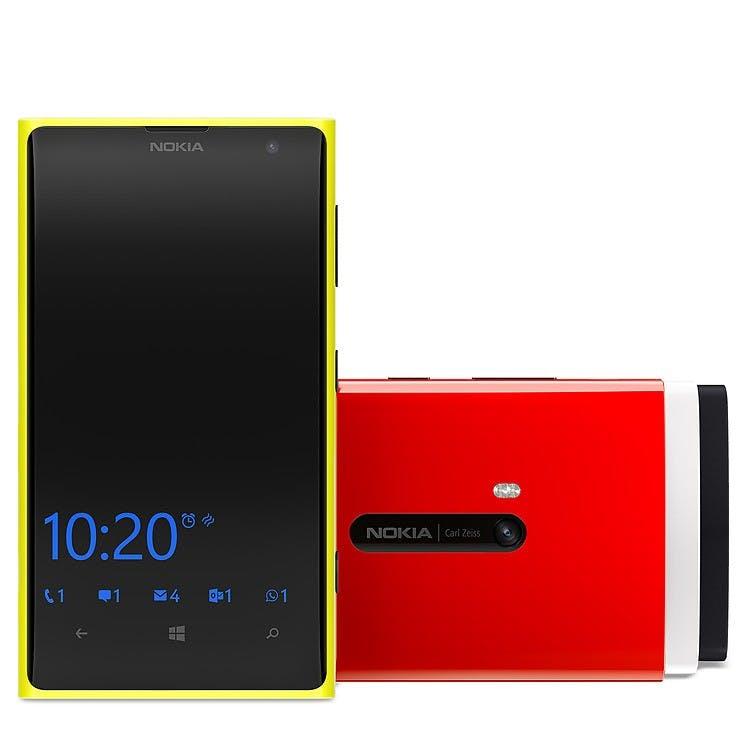 """Der neue """"Glance Screen"""" der Lumia-Smartphones. (Foto: Nokia)"""