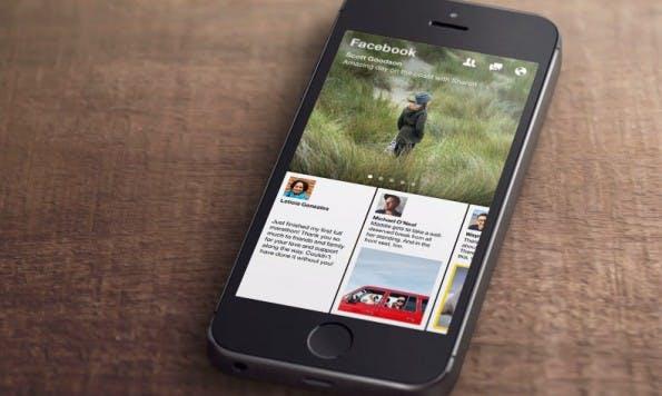 Flipboard-Konkurrent Paper: Facebooks Reader-App startet am 3. Februar.