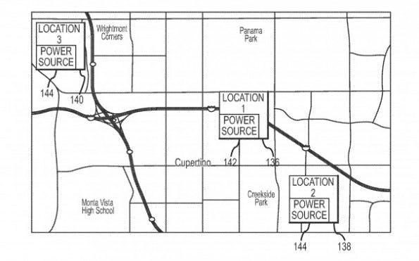Patentantrag zur Stromversorgung: Akkulaufzeit wird durch Lokalisierung optimiert.