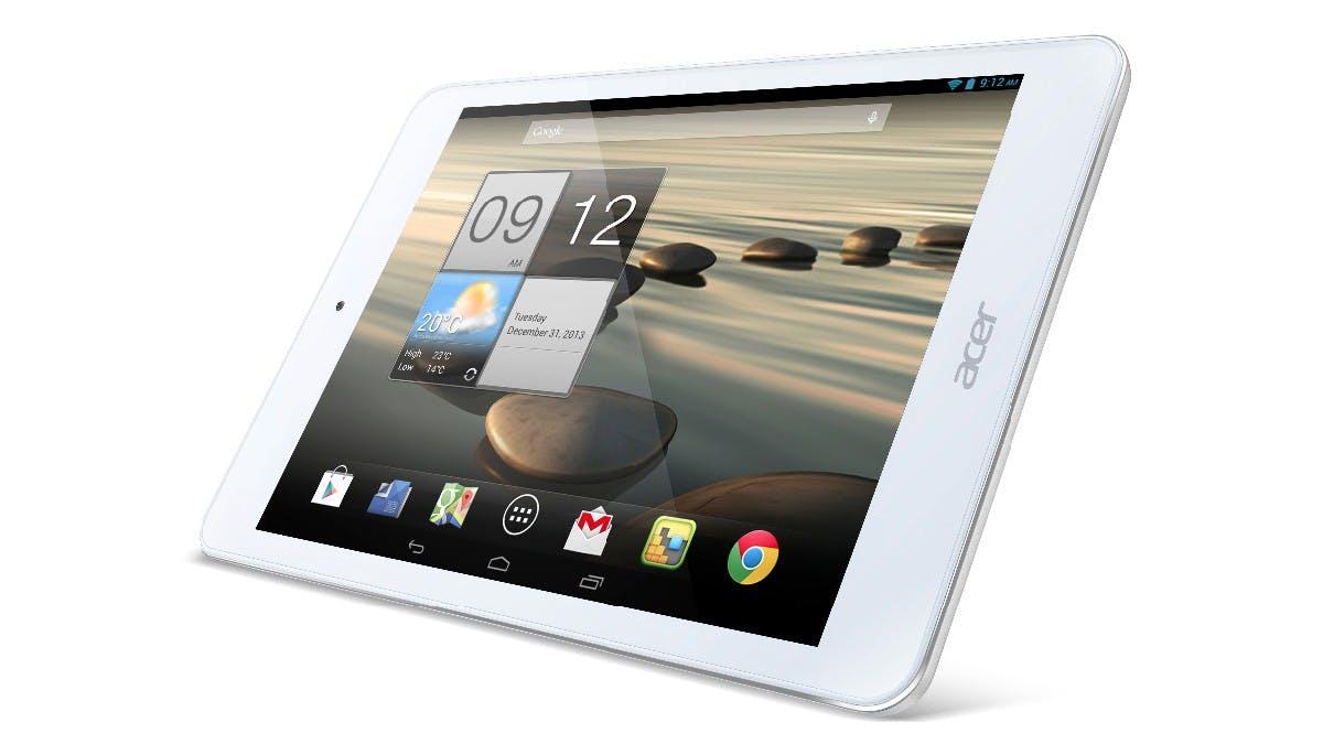 CES 2014: Acer Iconia A1 – Das gelungene Einsteiger-Tablet im Hands-On [Video]