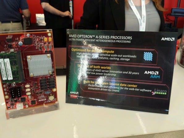 AMD Opteron A1100: Das Entwicklerkit soll im März kommen. (Bild: AMD)