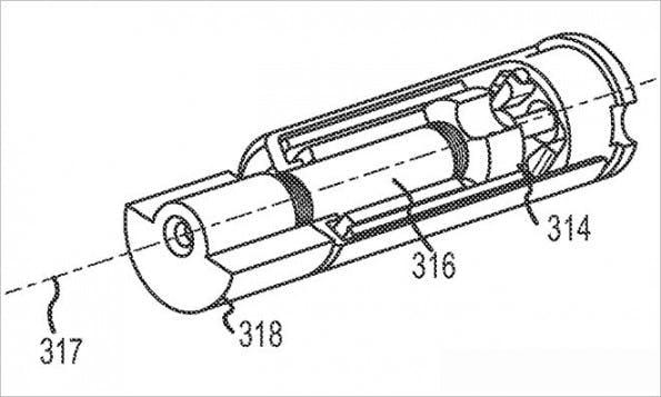 Patent für besonderen Schutzmechanismus: Smartphone dreht sich von selbst in der Luft.