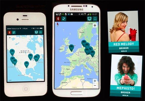 Dustcloud: Die App soll es für iOS und Android geben. (Bild: Dustcloud)